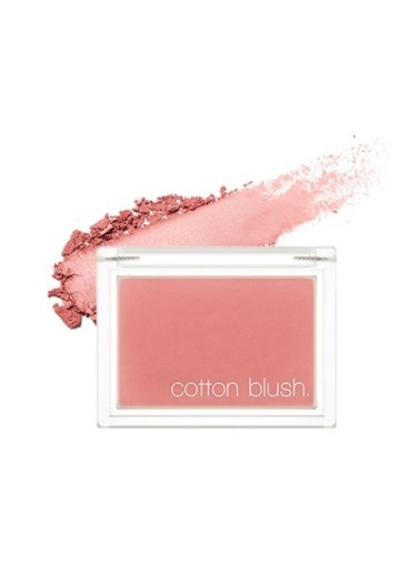 Missha Cotton Blusher (Vintage Robe) Pembe